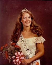 Miss Strassenfest 1981 - Dr. Brenda Stenftenagel Jardenil