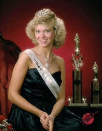 Miss Strassenfest 1986 - Shelley Leinenbach Uebelhor