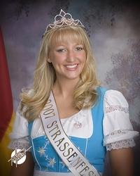 Miss Strassenfest 2007 - Dr. Kristin Weidenbenner Eckerle