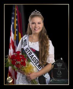 2017 Miss Strassenfest, 2018 Indiana State Festivals Association 2nd Runner-Up Kara Skorge