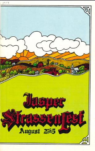 Cover of 1979 Strassenfest Booklet