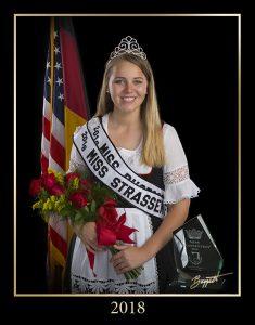 2018 Miss Strassenfest - Hannah Rydberg